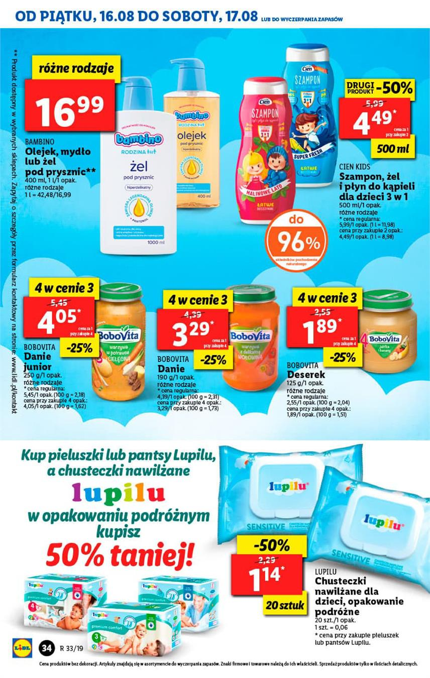 Gazetka Lidl Polska Sp. z o.o. nr 34 od 2019-08-16 do 2019-08-17