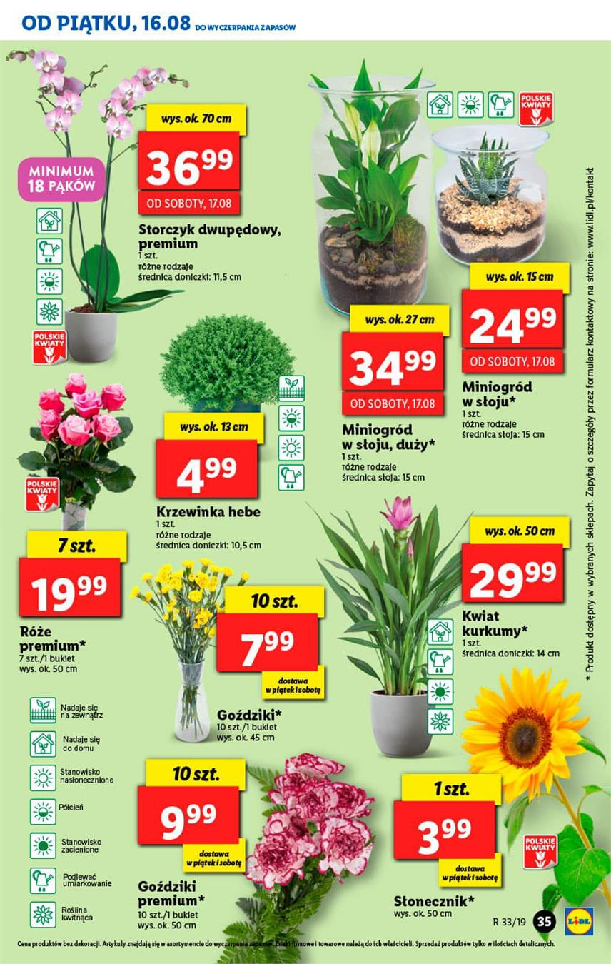 Gazetka Lidl Polska Sp. z o.o. nr 35 od 2019-08-16 do 2019-08-17