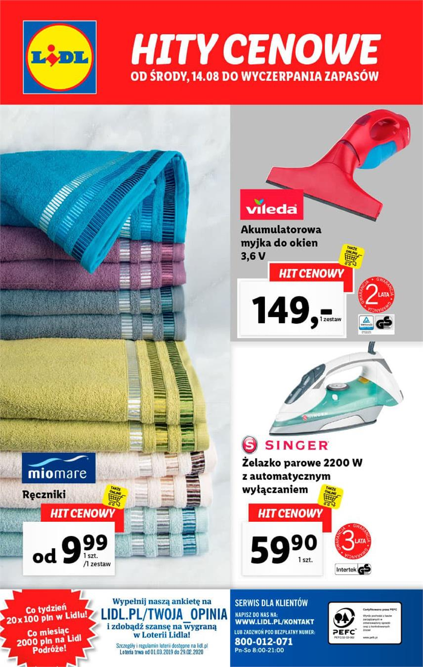 Gazetka Lidl Polska Sp. z o.o. nr 36 od 2019-08-16 do 2019-08-17