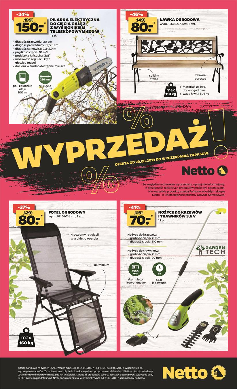 Gazetka Netto Sp. z o.o. nr 8 od 2019-08-26 do 2019-08-31