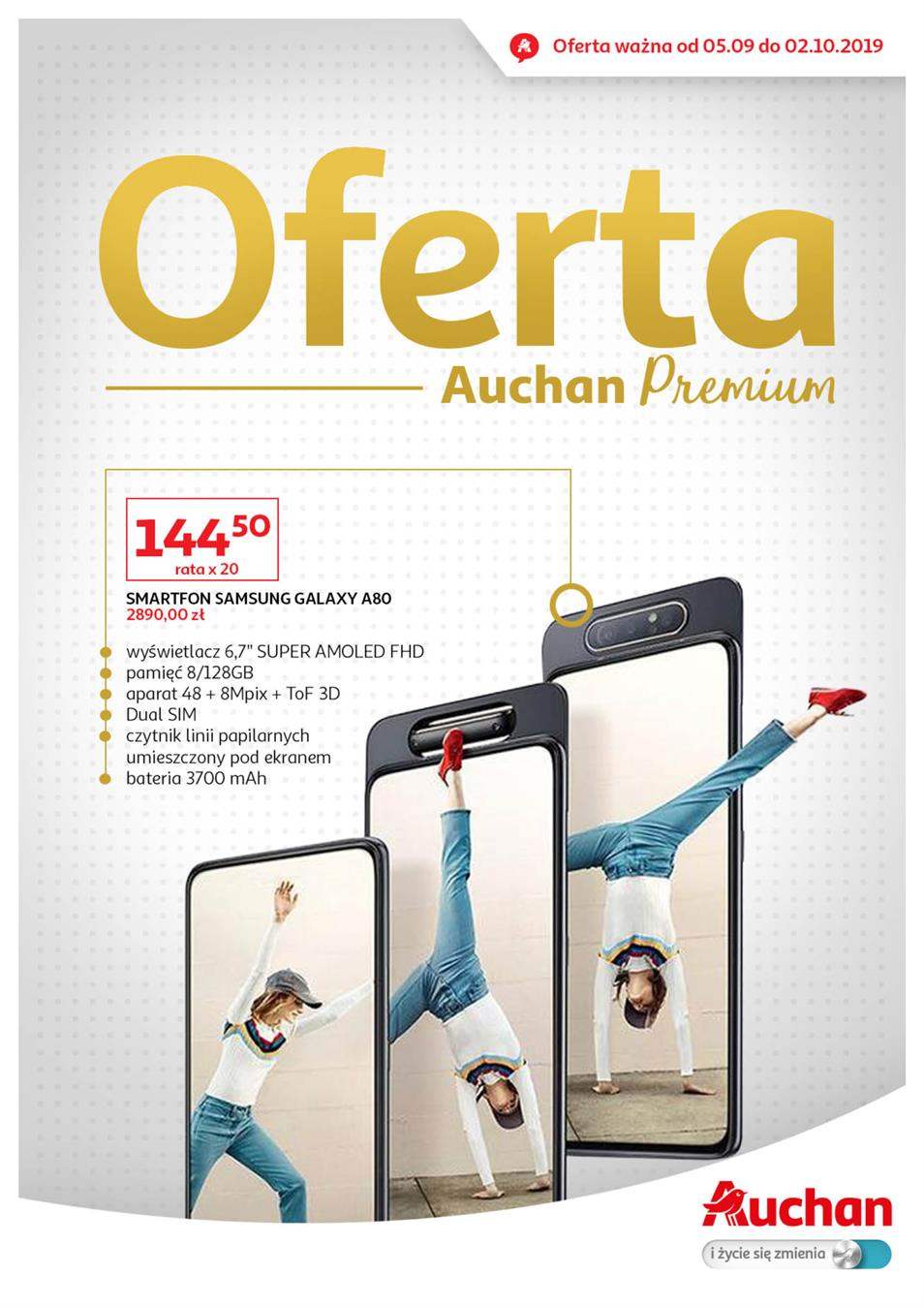 Gazetka Auchan Polska Sp. z o.o. nr 1 od 2019-09-05 do 2019-10-02
