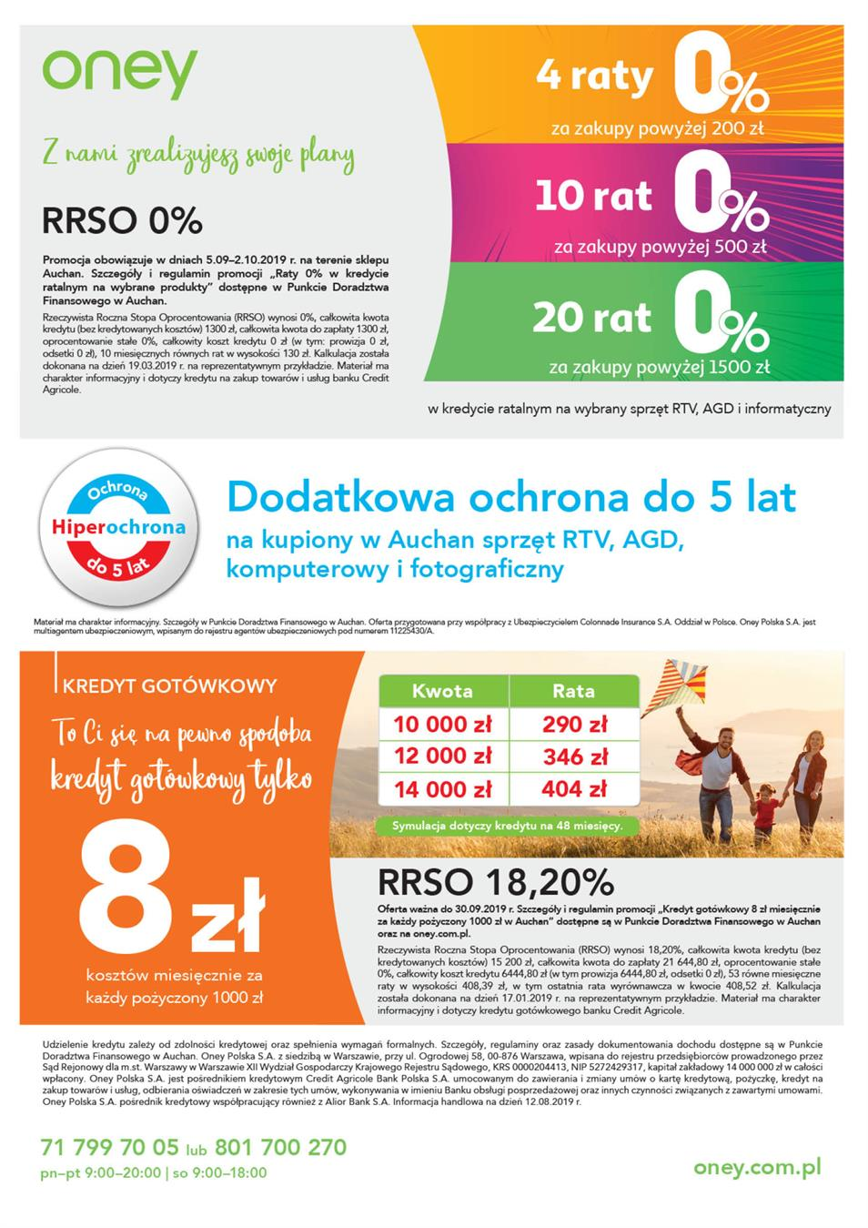 Gazetka Auchan Polska Sp. z o.o. nr 2 od 2019-09-05 do 2019-10-02