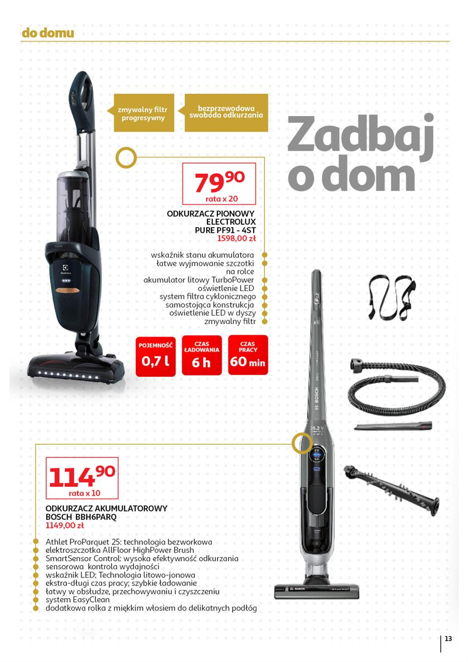 Gazetka Auchan Polska Sp. z o.o. nr 13 od 2019-09-05 do 2019-10-02