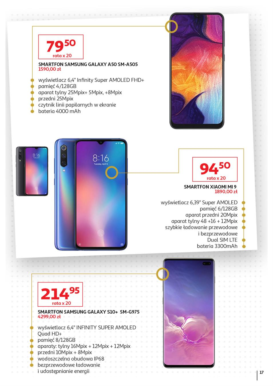 Gazetka Auchan Polska Sp. z o.o. nr 17 od 2019-09-05 do 2019-10-02