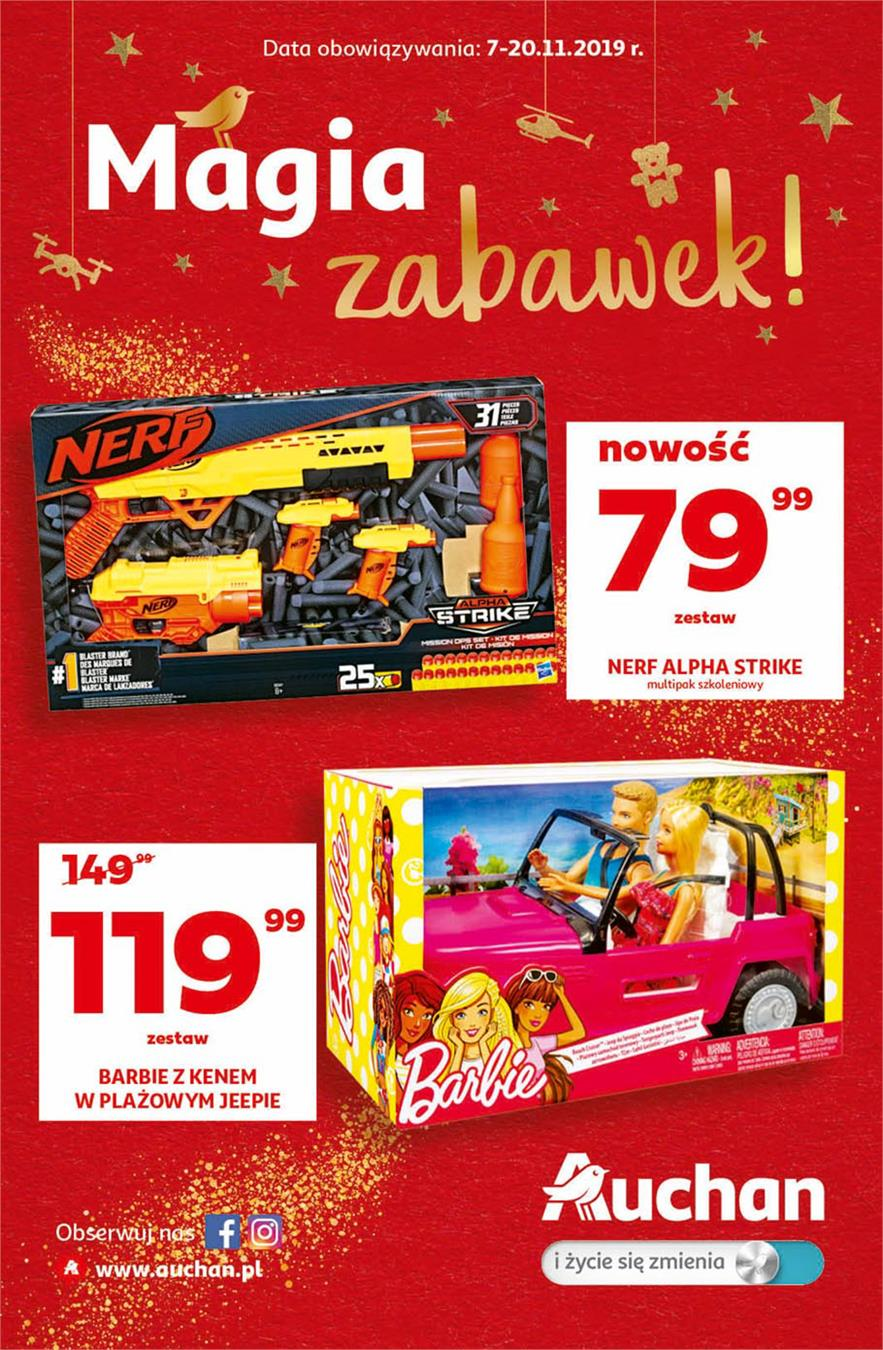 Gazetka Auchan Polska Sp. z o.o. nr 1 od 2019-11-07 do 2019-11-20