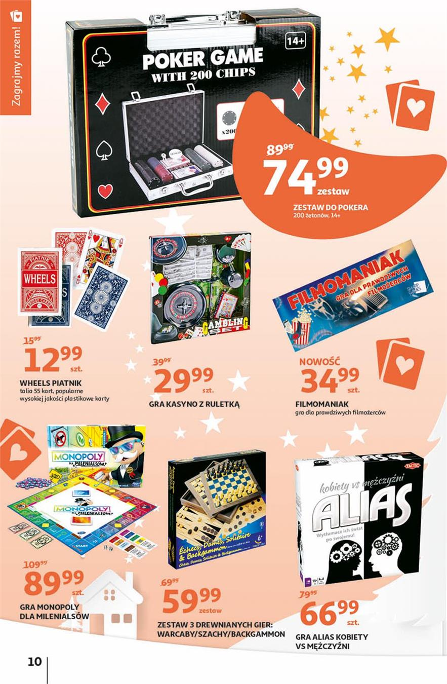 Gazetka Auchan Polska Sp. z o.o. nr 10 od 2019-11-07 do 2019-11-20