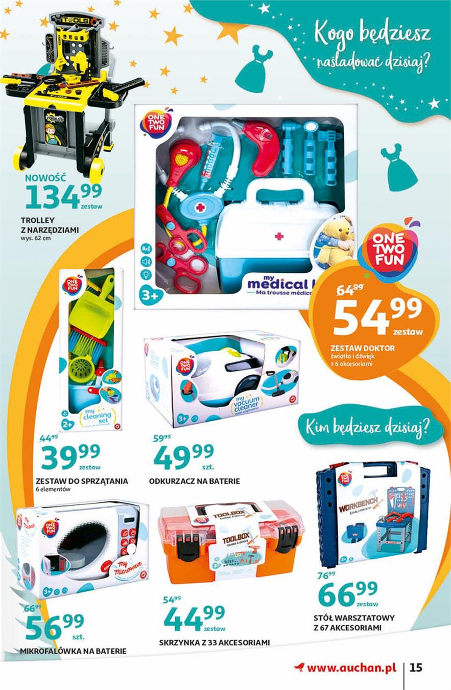 Gazetka Auchan Polska Sp. z o.o. nr 15 od 2019-11-07 do 2019-11-20