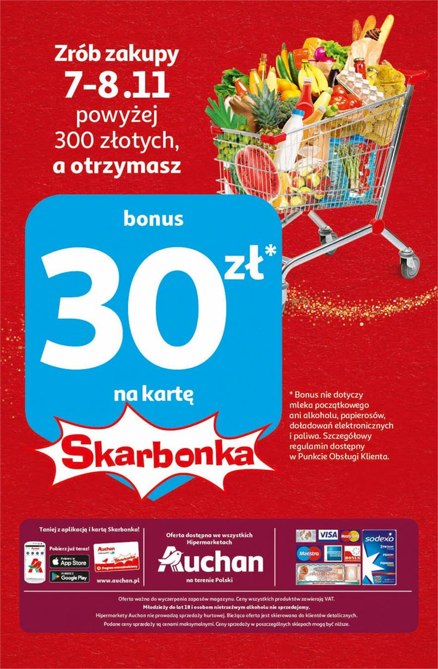 Gazetka Auchan Polska Sp. z o.o. nr 32 od 2019-11-07 do 2019-11-20