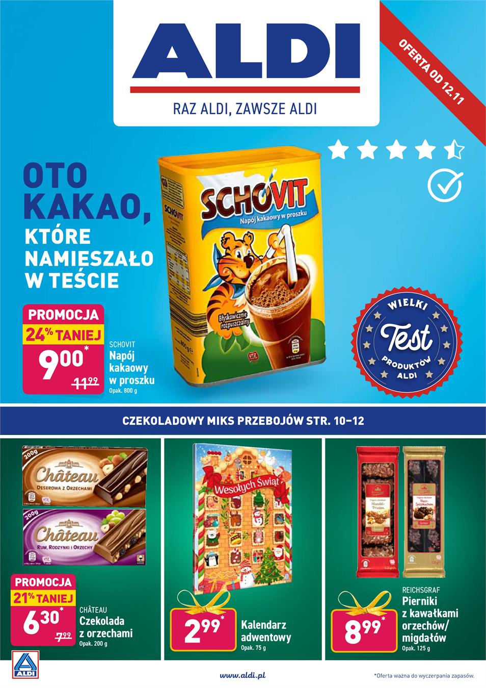 Gazetka ALDI SP Z O O  nr 1 od 2019-11-12 do 2019-11-16