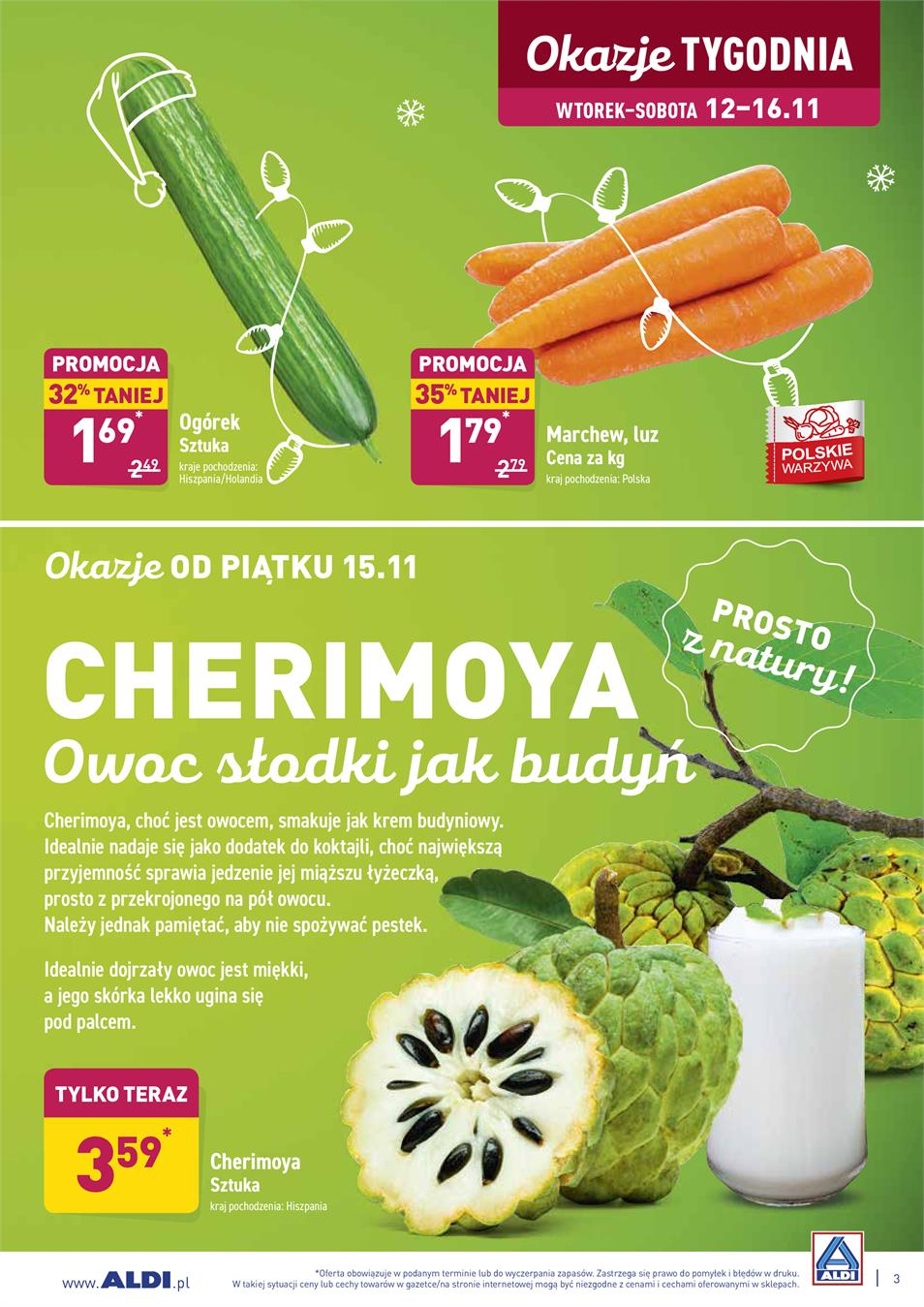 Gazetka ALDI SP Z O O  nr 3 od 2019-11-12 do 2019-11-16