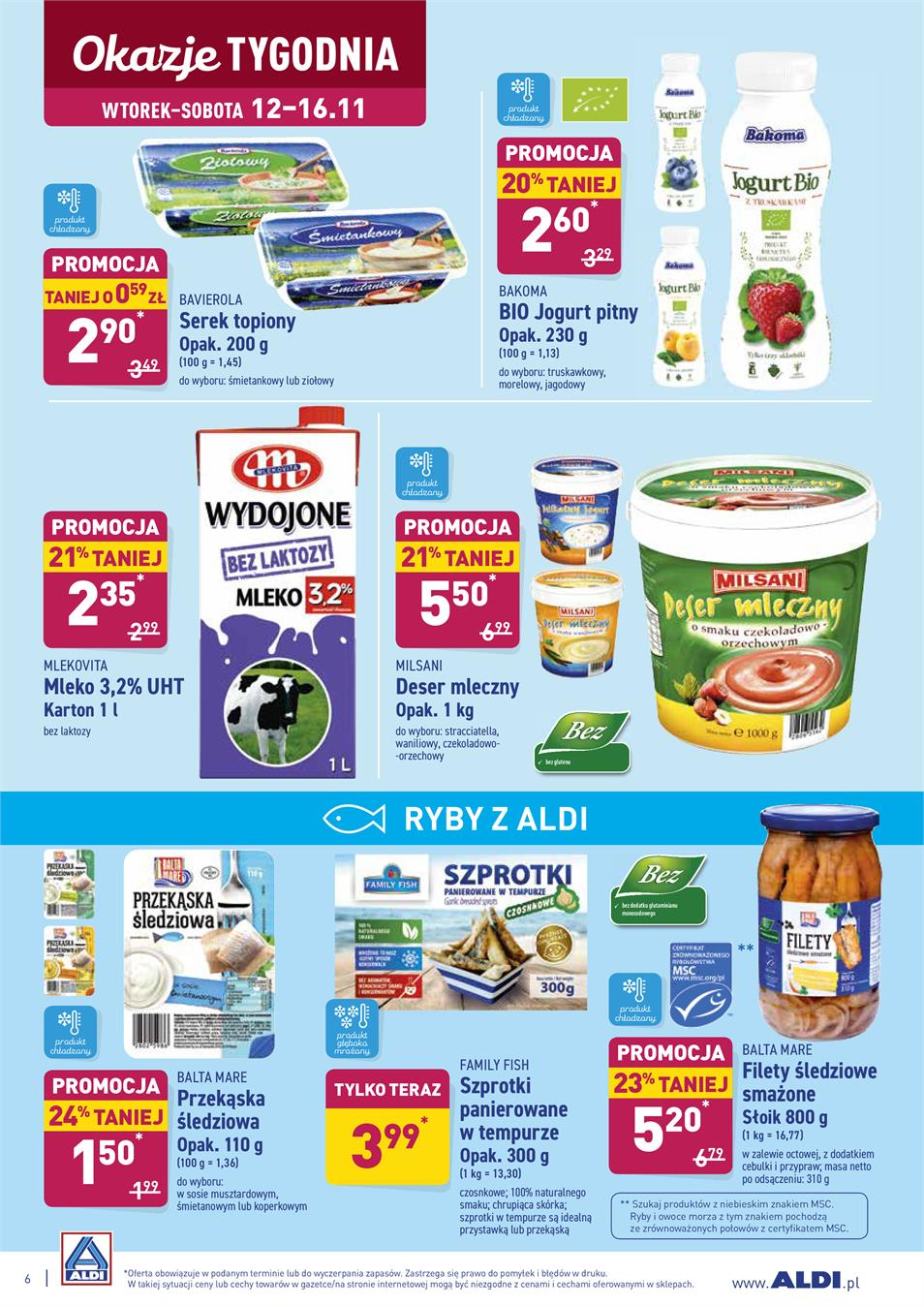 Gazetka ALDI SP Z O O  nr 6 od 2019-11-12 do 2019-11-16