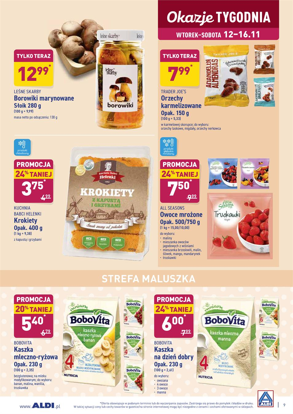 Gazetka ALDI SP Z O O  nr 9 od 2019-11-12 do 2019-11-16