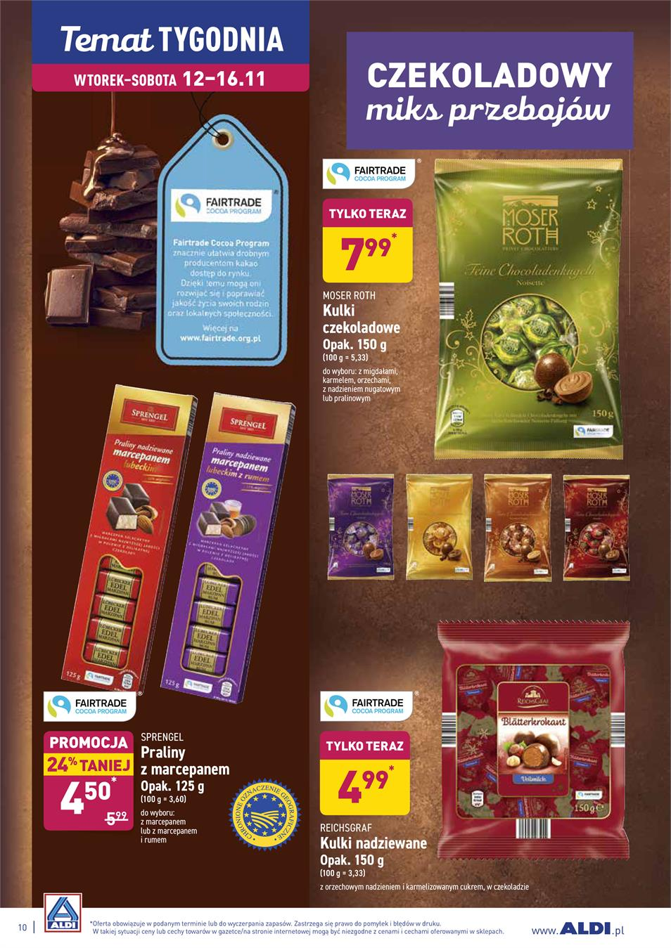 Gazetka ALDI SP Z O O  nr 10 od 2019-11-12 do 2019-11-16