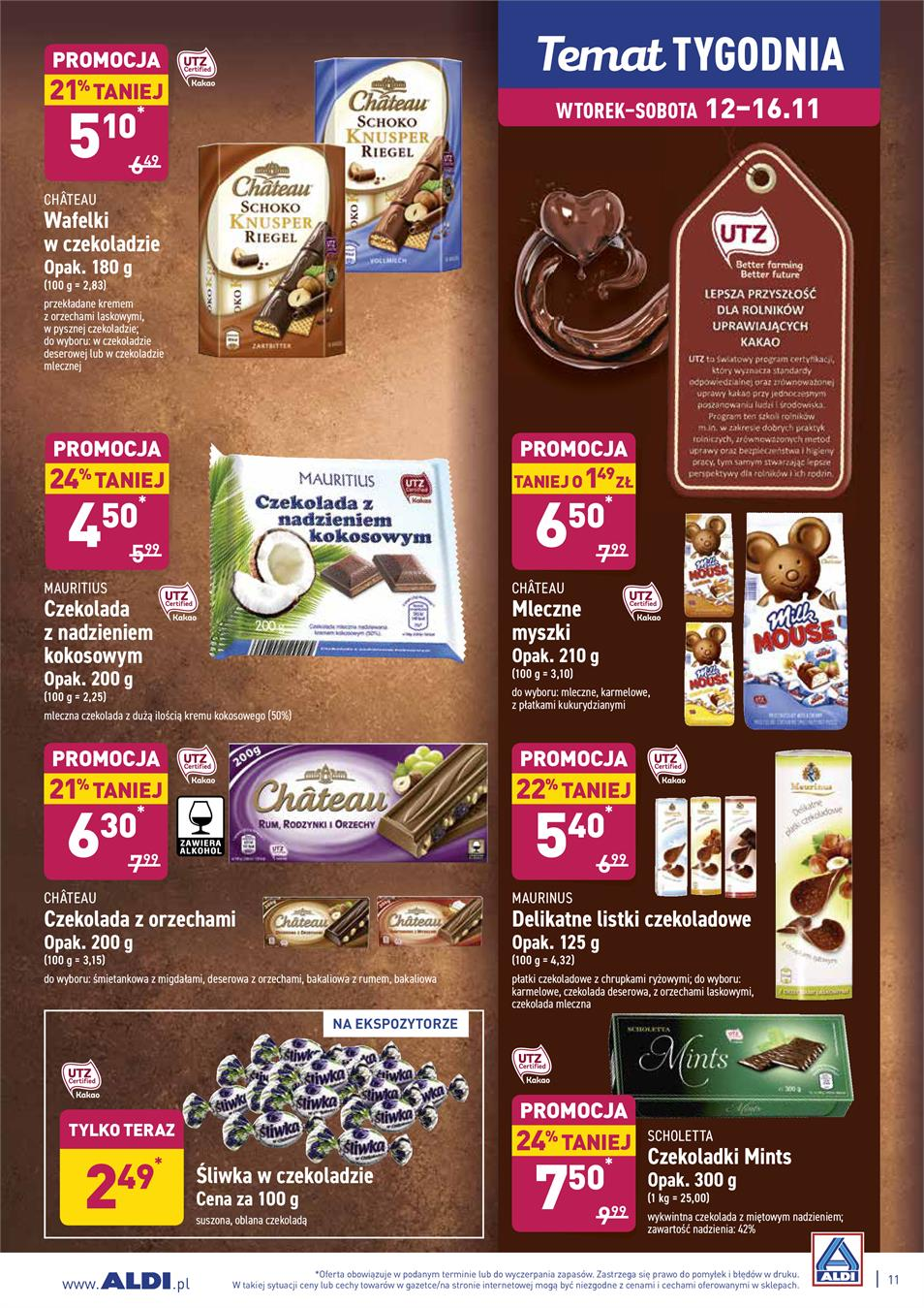 Gazetka ALDI SP Z O O  nr 11 od 2019-11-12 do 2019-11-16