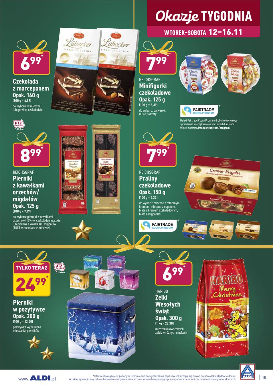Gazetka ALDI SP Z O O  nr 15 od 2019-11-12 do 2019-11-16