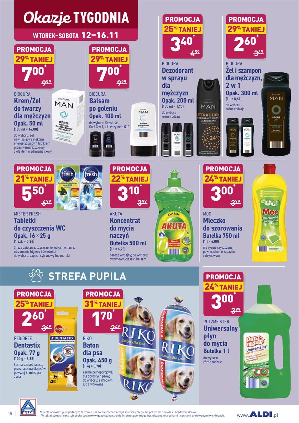 Gazetka ALDI SP Z O O  nr 18 od 2019-11-12 do 2019-11-16