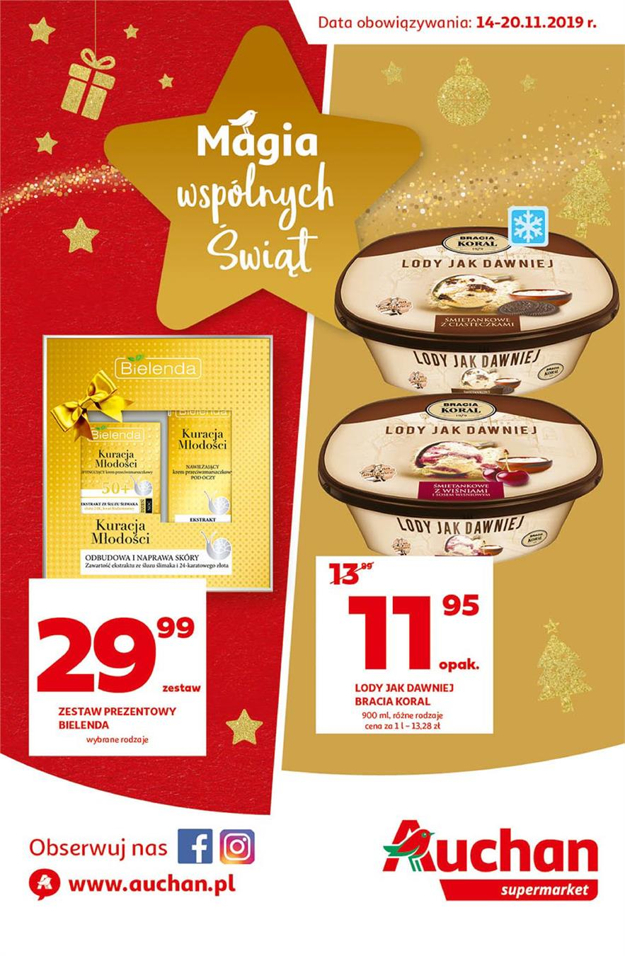 Gazetka Auchan Polska Sp. z o.o. nr 1 od 2019-11-14 do 2019-11-20
