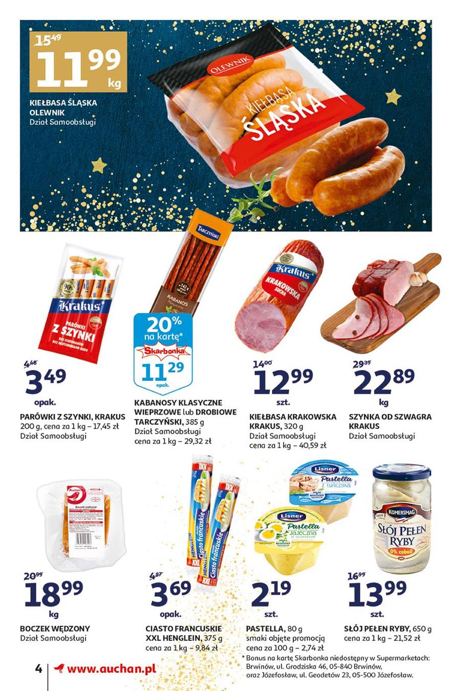 Gazetka Auchan Polska Sp. z o.o. nr 4 od 2019-11-14 do 2019-11-20