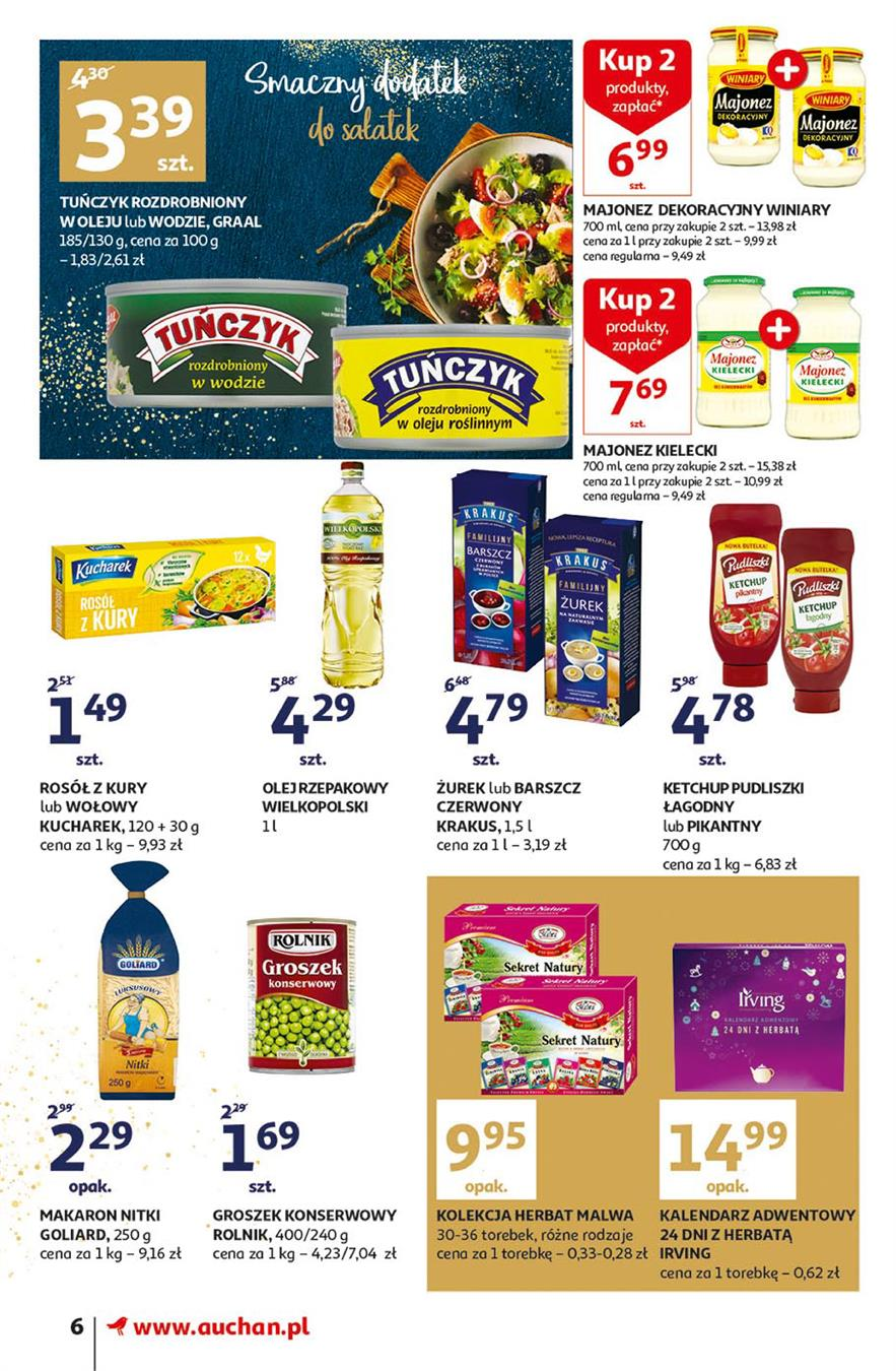 Gazetka Auchan Polska Sp. z o.o. nr 6 od 2019-11-14 do 2019-11-20