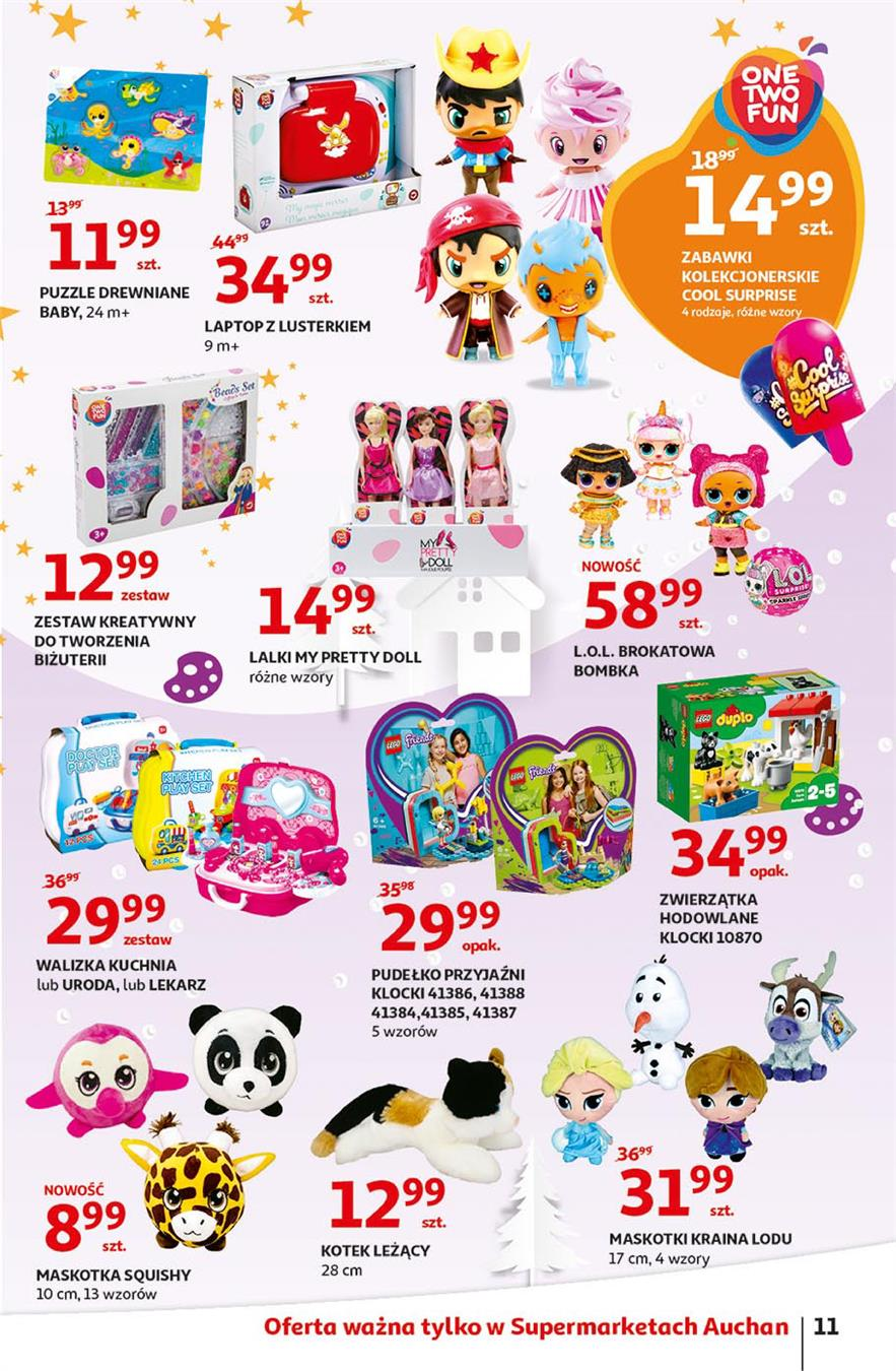 Gazetka Auchan Polska Sp. z o.o. nr 11 od 2019-11-14 do 2019-11-20