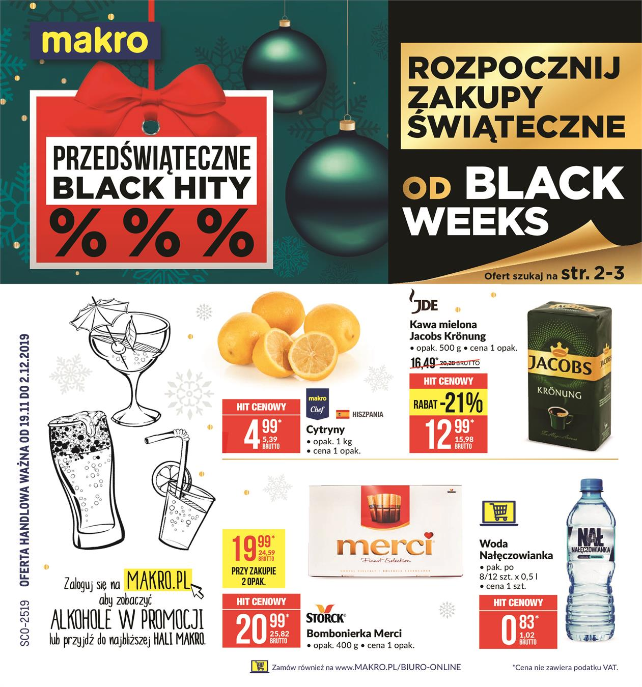 Gazetka MAKRO CASH AND CARRY POLSKA S A nr 1 od 2019-11-19 do 2019-12-02