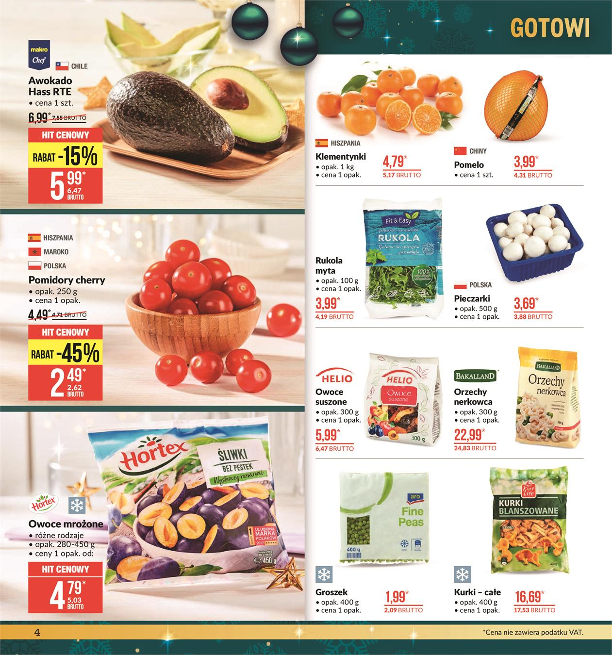 Gazetka MAKRO CASH AND CARRY POLSKA S A nr 4 od 2019-11-19 do 2019-12-02