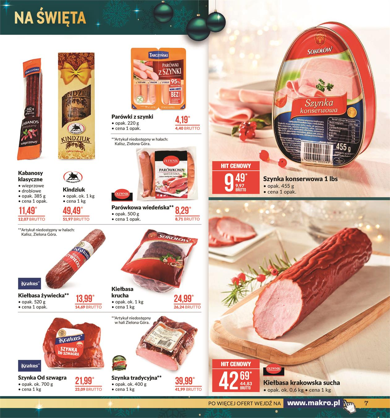 Gazetka MAKRO CASH AND CARRY POLSKA S A nr 7 od 2019-11-19 do 2019-12-02