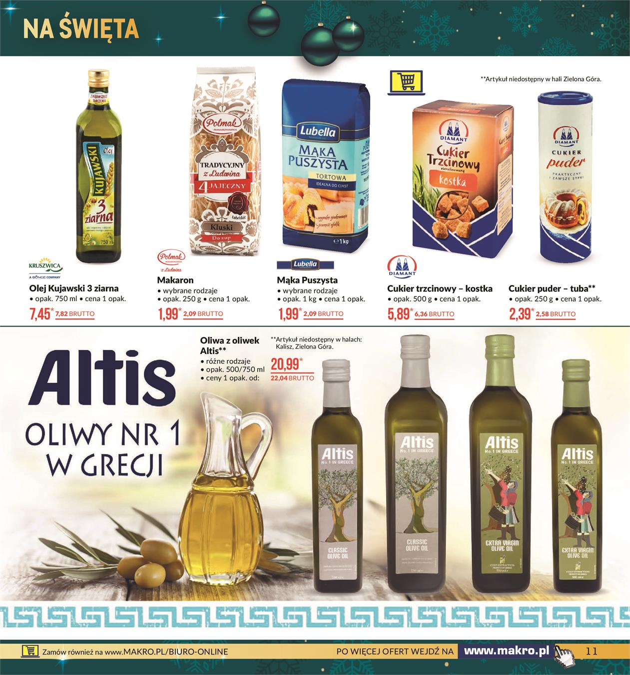 Gazetka MAKRO CASH AND CARRY POLSKA S A nr 11 od 2019-11-19 do 2019-12-02