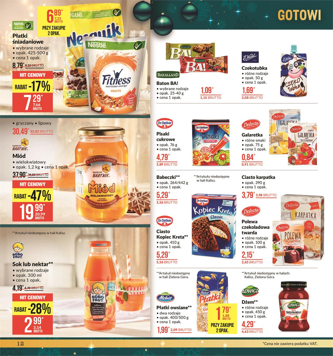 Gazetka MAKRO CASH AND CARRY POLSKA S A nr 12 od 2019-11-19 do 2019-12-02