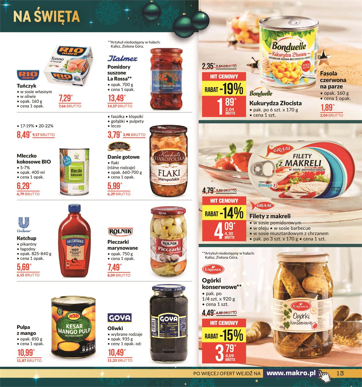 Gazetka MAKRO CASH AND CARRY POLSKA S A nr 13 od 2019-11-19 do 2019-12-02