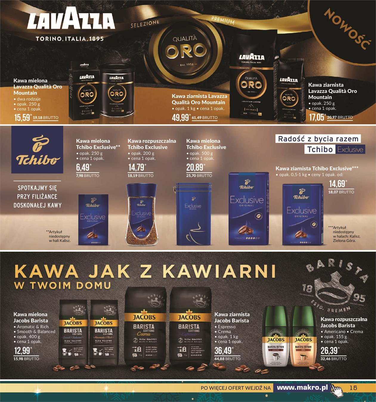 Gazetka MAKRO CASH AND CARRY POLSKA S A nr 15 od 2019-11-19 do 2019-12-02