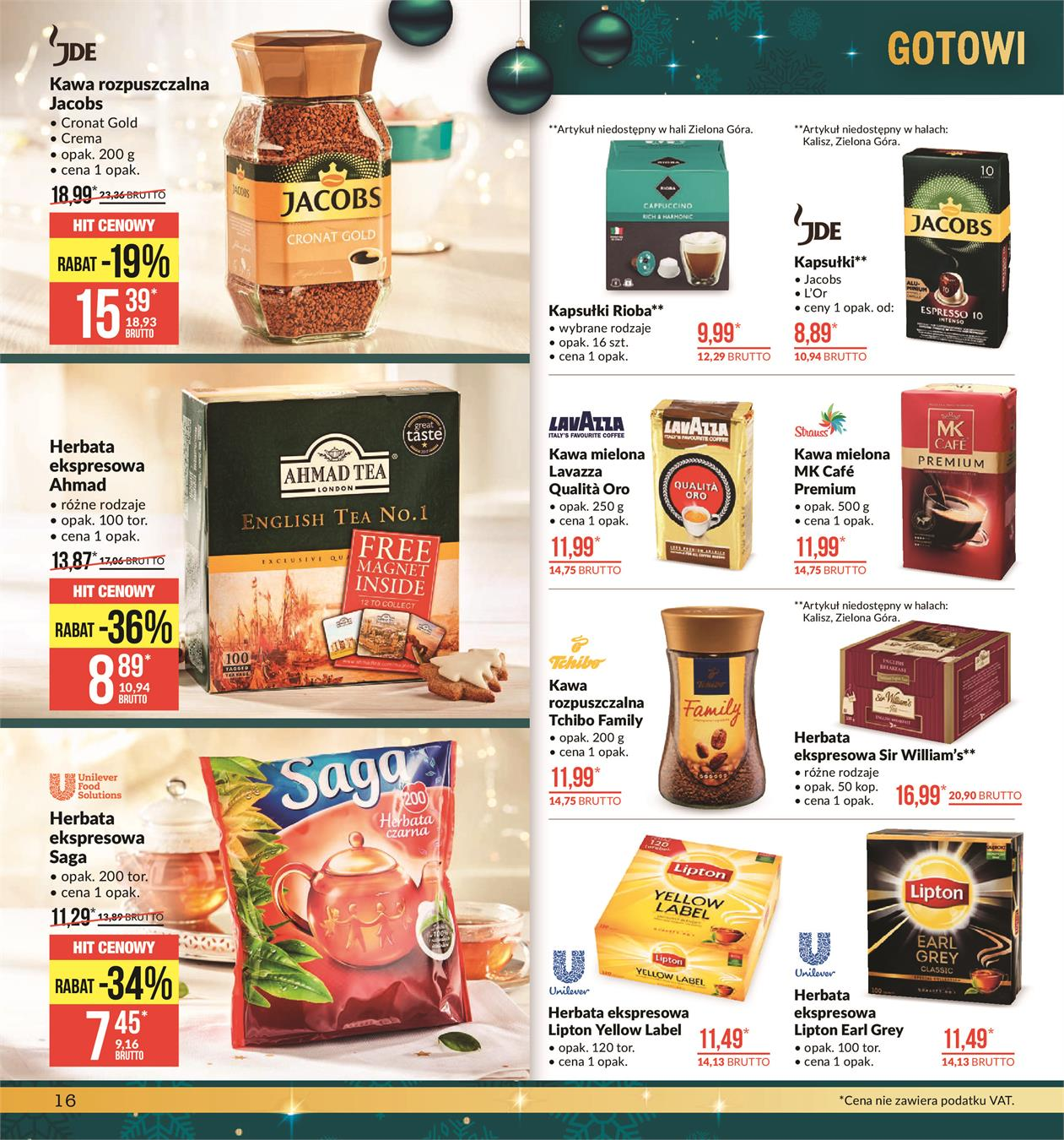 Gazetka MAKRO CASH AND CARRY POLSKA S A nr 16 od 2019-11-19 do 2019-12-02