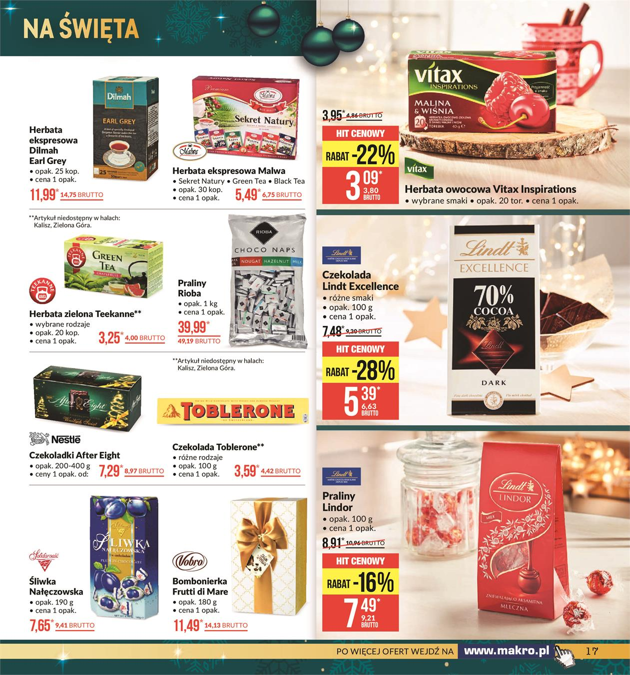 Gazetka MAKRO CASH AND CARRY POLSKA S A nr 17 od 2019-11-19 do 2019-12-02