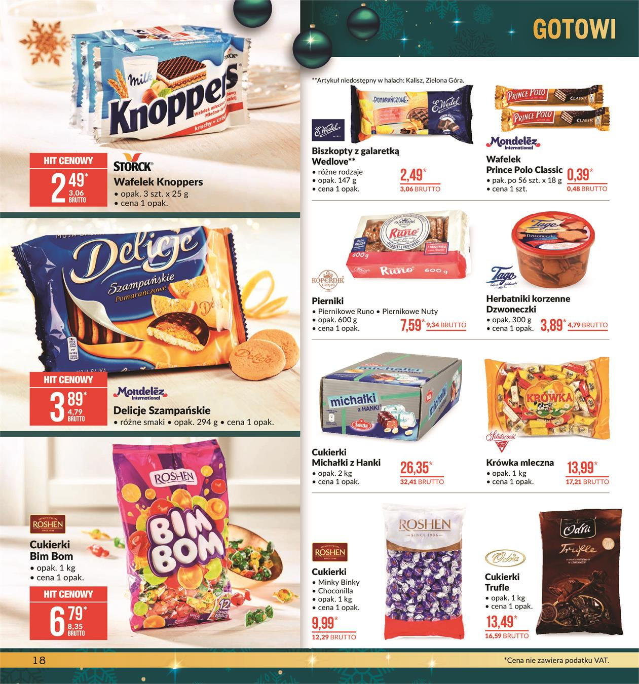 Gazetka MAKRO CASH AND CARRY POLSKA S A nr 18 od 2019-11-19 do 2019-12-02