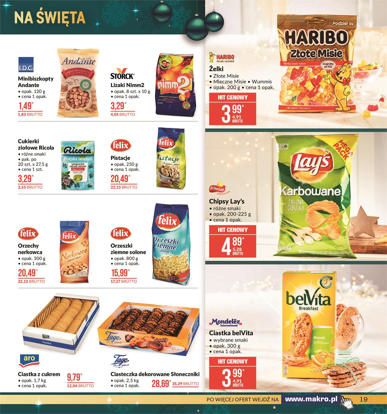 Gazetka MAKRO CASH AND CARRY POLSKA S A nr 19 od 2019-11-19 do 2019-12-02