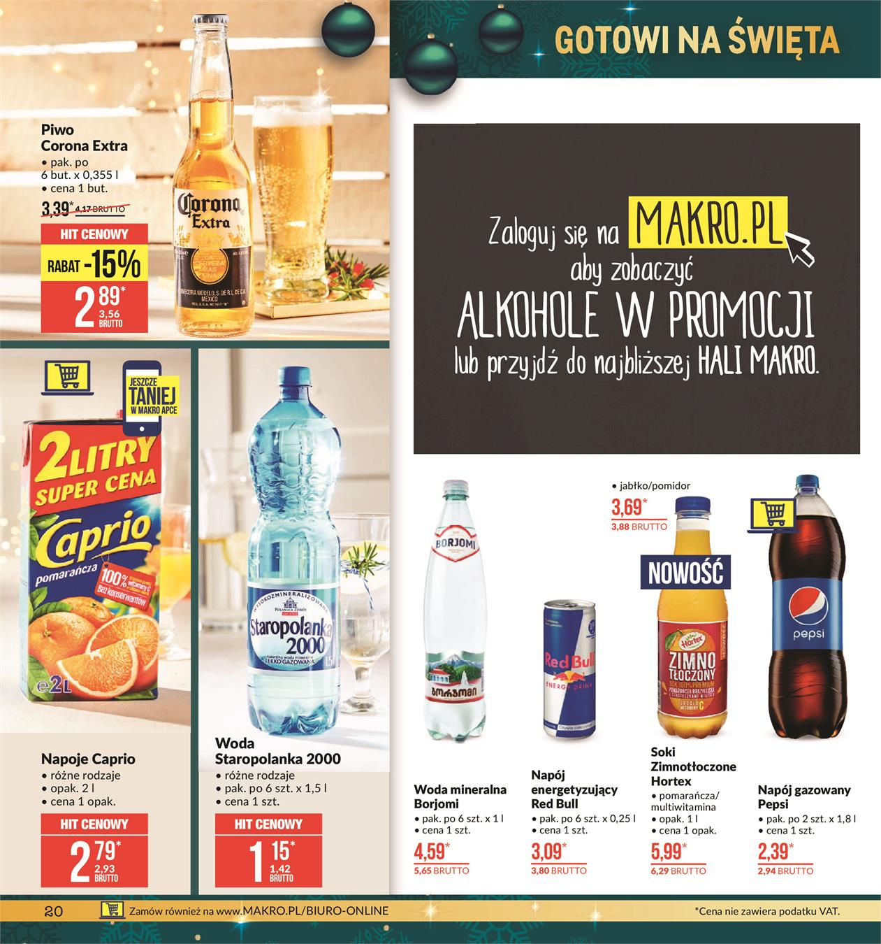 Gazetka MAKRO CASH AND CARRY POLSKA S A nr 20 od 2019-11-19 do 2019-12-02