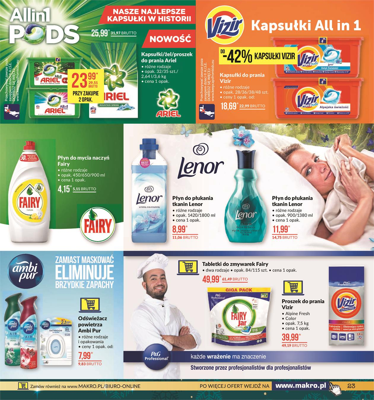 Gazetka MAKRO CASH AND CARRY POLSKA S A nr 23 od 2019-11-19 do 2019-12-02