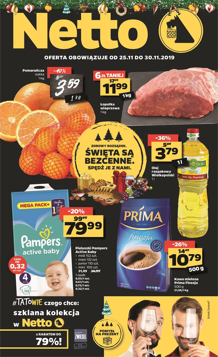 Gazetka Netto Sp. z o.o. nr 1 od 2019-11-25 do 2019-11-30