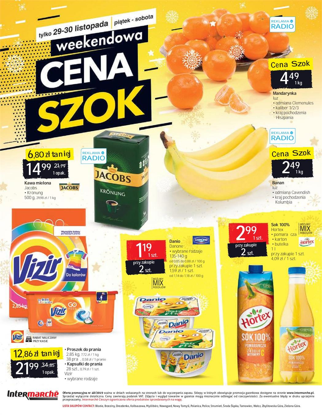 Gazetka SCA PR Polska Sp. z o.o. nr 26 od 2019-11-26 do 2019-12-02