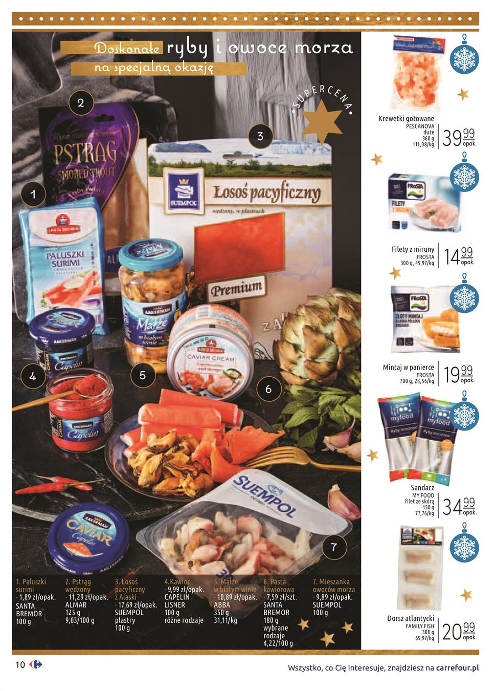 Gazetka Carrefour Polska Sp. z o.o. nr 10 od 2019-12-03 do 2019-12-24