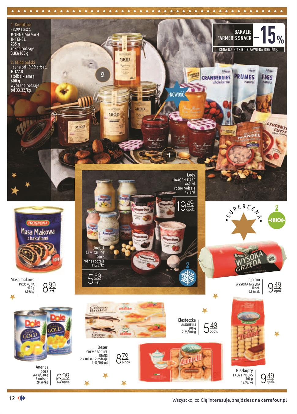Gazetka Carrefour Polska Sp. z o.o. nr 12 od 2019-12-03 do 2019-12-24