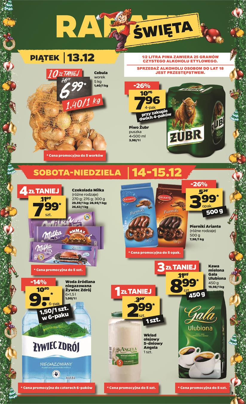 Gazetka Netto Sp. z o.o. nr 3 od 2019-12-09 do 2019-12-15
