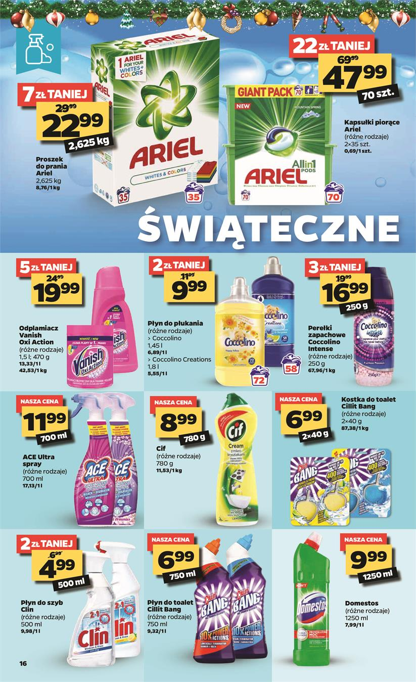 Gazetka Netto Sp. z o.o. nr 16 od 2019-12-09 do 2019-12-15