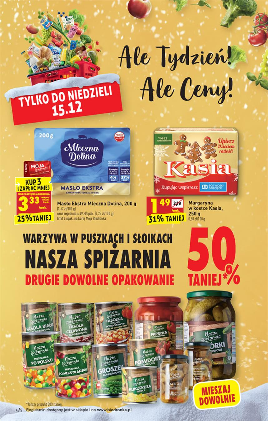 Gazetka Jeronimo Martins Polska SA nr 4 od 2019-12-12 do 2019-12-18
