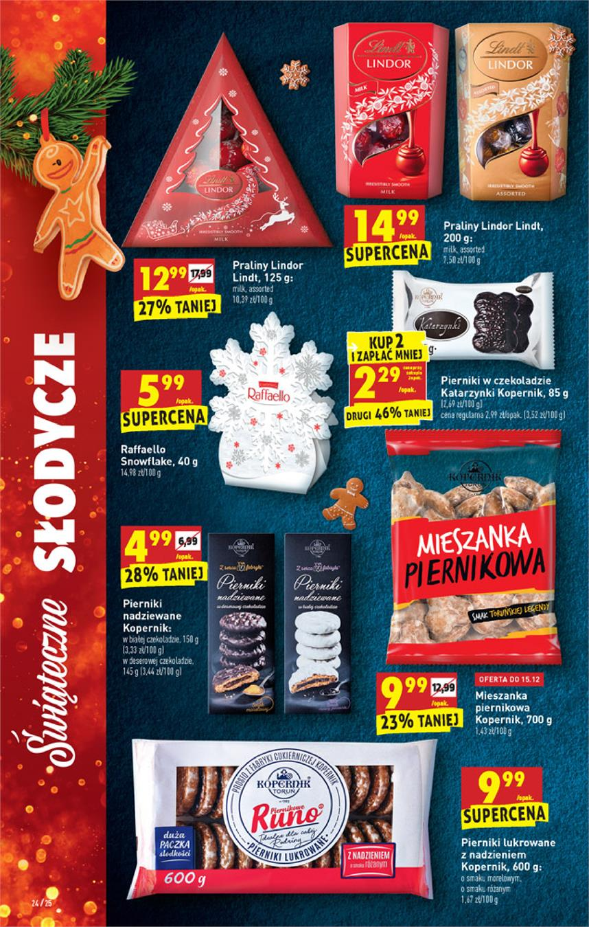 Gazetka Jeronimo Martins Polska SA nr 24 od 2019-12-12 do 2019-12-18