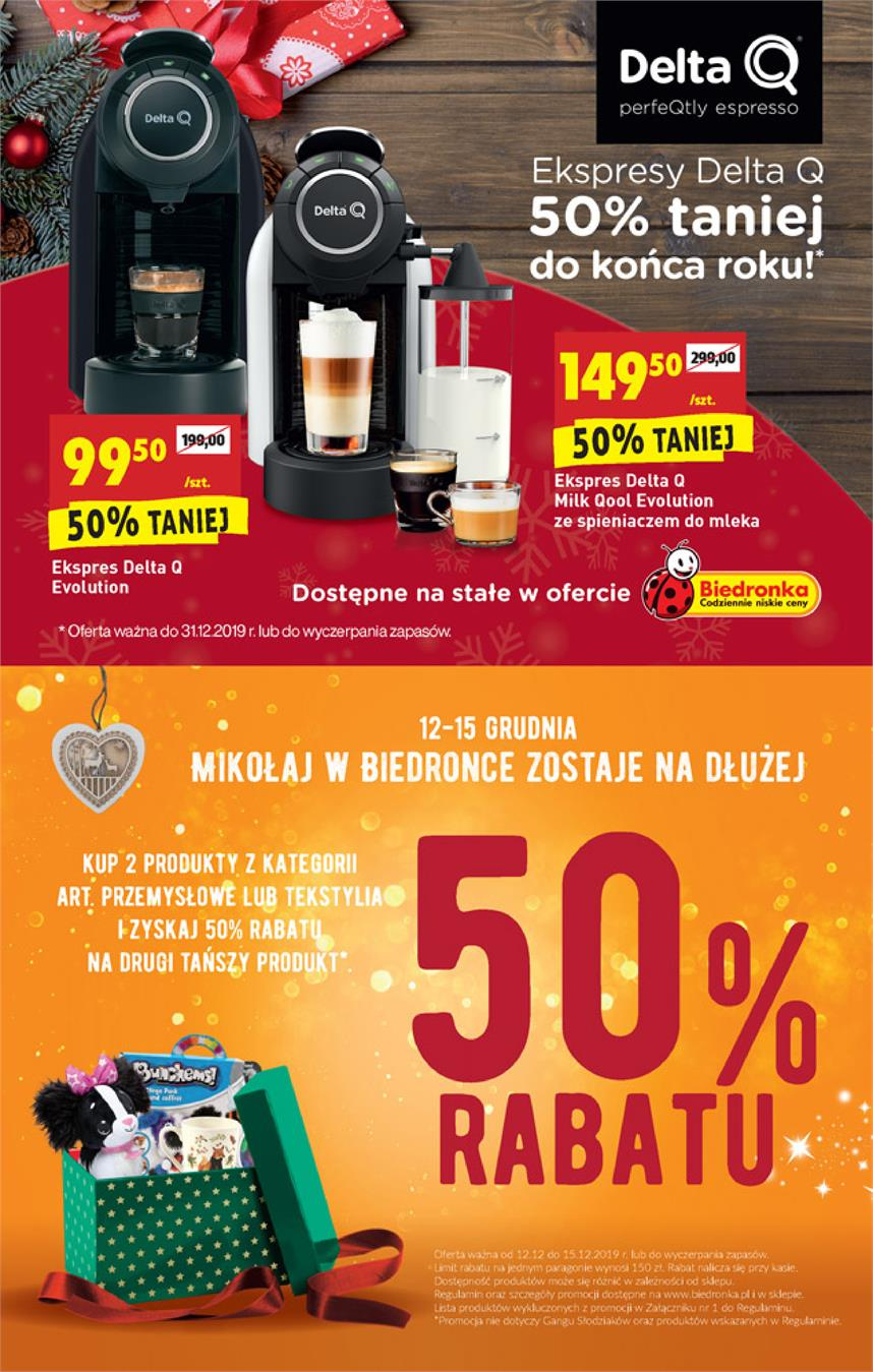 Gazetka Jeronimo Martins Polska SA nr 64 od 2019-12-12 do 2019-12-18