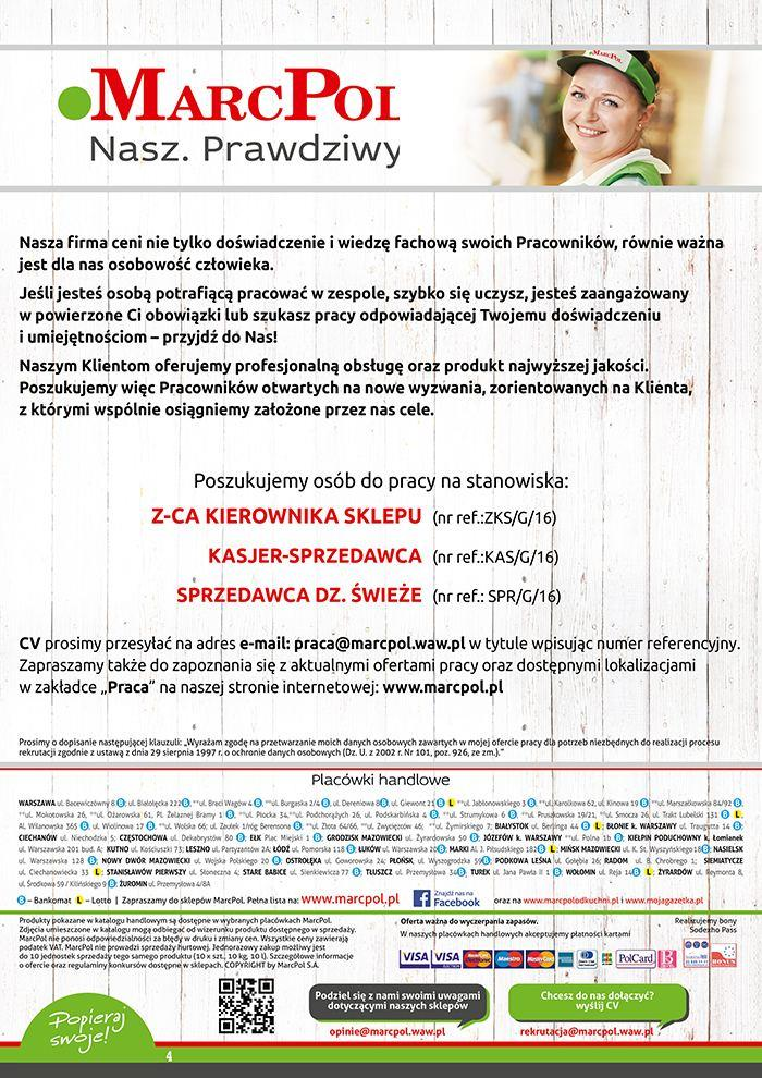 Gazetka MARCPOL S.A. nr 4 od 2016-02-18 do 2016-02-24