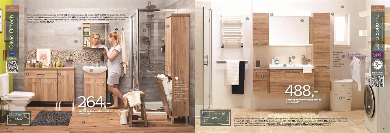 Gazetka Promocyjna Castoramapl łazienki Maj 2015