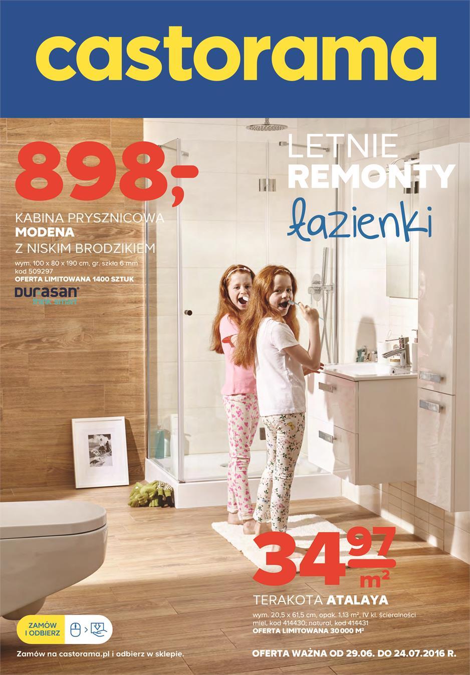 Gazetka Promocyjna Castoramapl Letnie Remonty łazienki