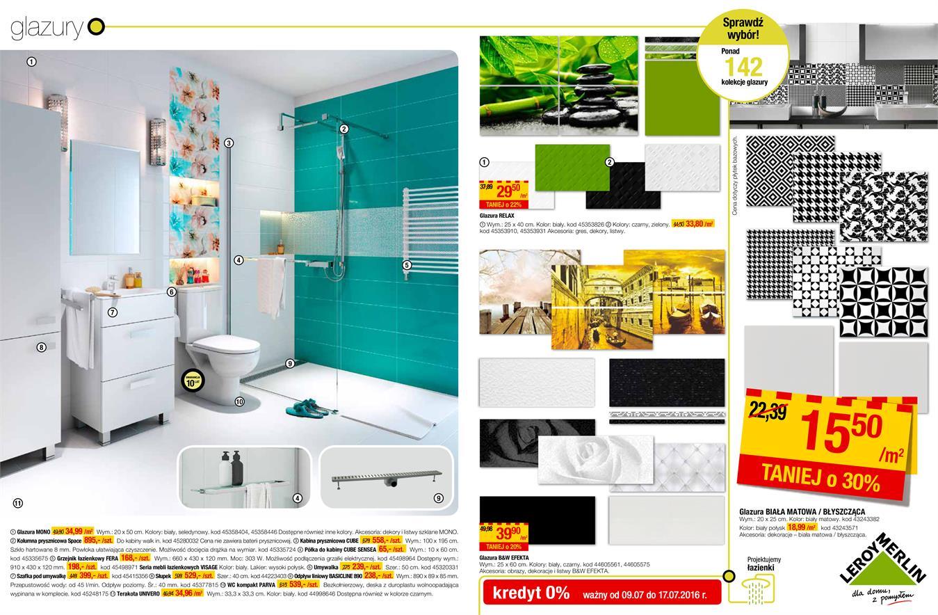 Gazetka Promocyjna Leroymerlinpl łazienki I Kuchnie